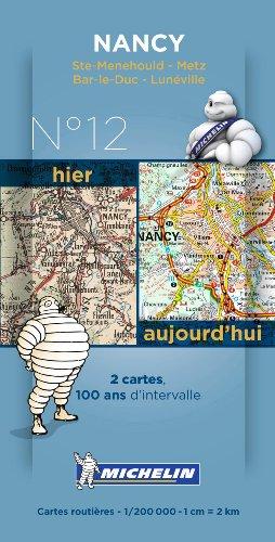 Pack 2 Cartes Hieraujourdhui Nancy Michelin Anglais Carte Pdf