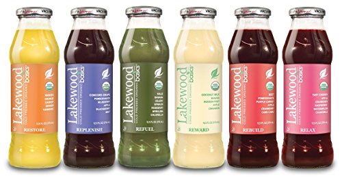 Lakewood Organic Basics Juice, Back To Basics, 12.5 Ounce (Pack of 12)