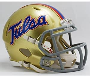 NCAA Tulsa Golden Hurricanes Speed Mini Helmet by Riddell