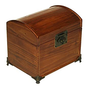 Mountain Woods Valencia Antique Style Recipe Box w/ Legs