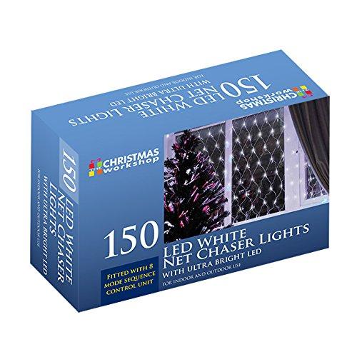 the-christmas-workshop-150-led-net-chaser-lights-bright-white