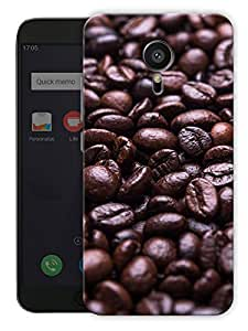 """Humor Gang Coffee Beans Printed Designer Mobile Back Cover For """"Meizu Mx5"""" (3D, Matte, Premium Quality Snap On Case)"""