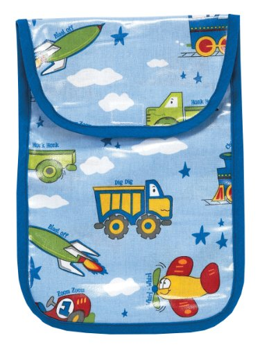 AM PM Kids! Diaper Clutch, Planes/Trains/Autos