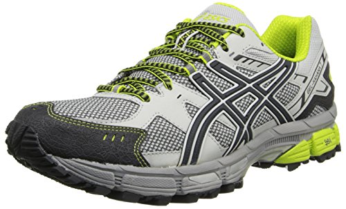 ASICS Men's Gel-Kahana 7 Running Shoe,Vapor/Onyx/Lime,14 M US