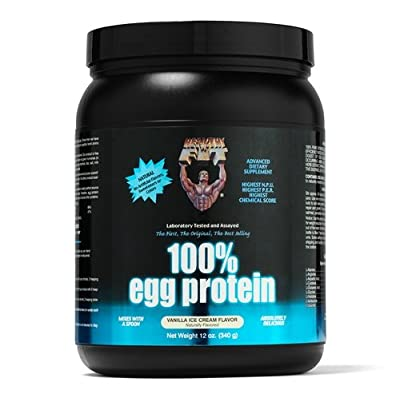 Healthy 'N Fit 100 Percent Egg Protein, Strawberry Passion, 12 Ounce