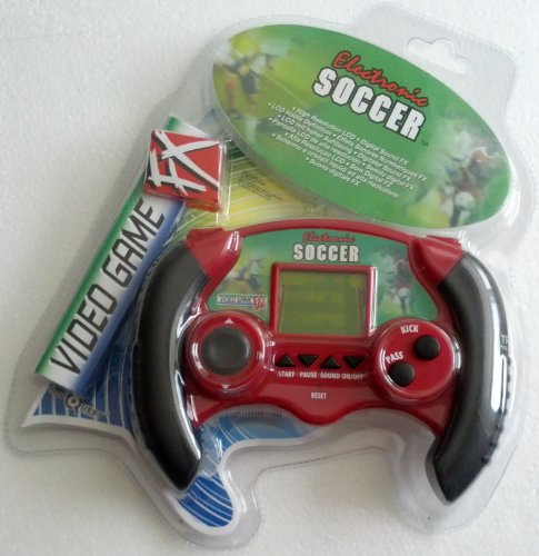Electronic Handheld Soccer Video Game Fx - 1