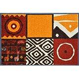 """Wash+Dry 032557 Fu�matte Safari 50 x 75 cm, terravon """"Wash&Dry"""""""