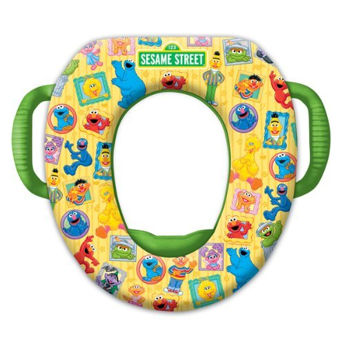 Sesame Street Soft Potty Seat – Framed Friends
