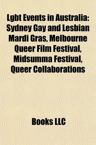 Lgbt Events in Australia