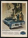1969 Oldsmobile Delta 88 Royale Classic Movie Print Ad (7381)