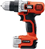 Home Improvement - Black & Decker LDX112C 12-Volt Max Lithium-Ion Drill/Driver with 1 Battery