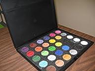 Mehron 30 Color Sampler Palette/Kit