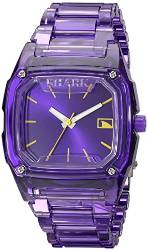 Freestyle Women's 101989 Shark Purple Polycarbonate Watch with Link Bracelet (Purple Shark Freestyle Watch compare prices)