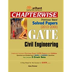 GATE Civil Engineering - Chapterwise Previous Years Solved Papers (2013-2000)