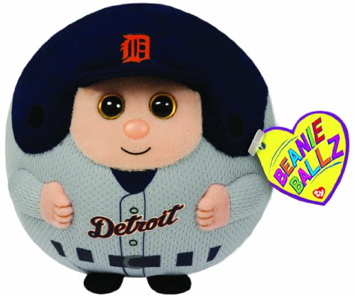 Ty Beanie Ballz MLB Detroit Tigers Plush - 1