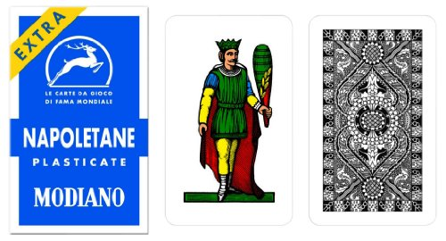 Napoletane 97/31 Modiano Regional Italian Playing Cards. Authentic Italian Deck. - 1