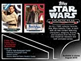 2018 Topps Star Wars Galactic Files Hobby Box - 192 cards with 1 Autographed!