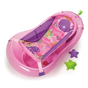 Fisher-Price Pink Sparkles Bath Tub
