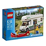 Lego City - 60057 - Jeu De Construction - Le Camping-car Et Son Canoë