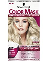 Schwarzkopf Colour Mask, Pearl Blonde Number 910 - Pack of 3