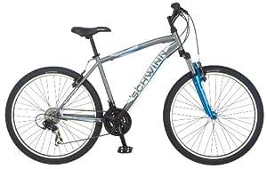 Schwinn Mens High Timber Mountain Bike, Grey, Medium by Schwinn