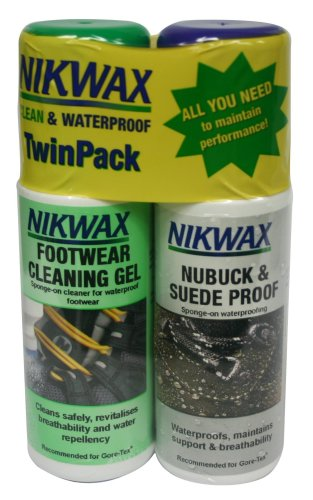 Nikwax Footwear Care Kit for Nubuck and Suede