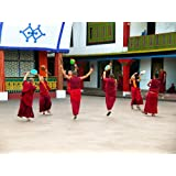 """Dolls Of India """"Monks At Rumtek Monastery - East Sikkim, India"""" Photographic Print - Unframed (40.64 X 30.48 Centimeters..."""