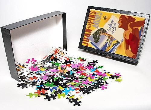 Photo Jigsaw Puzzle Of Juan Les Pins Travel Posters