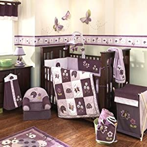 Lady Bug Garden 4 Pc. Crib Bedding Set by Lambs & Ivy