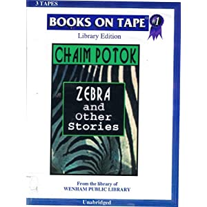 zebra by chaim potok This ia a potok lecture that reveals his own analysis of his novels  zebra will be  the title story in a new publication entitled zebra and other stories due for.