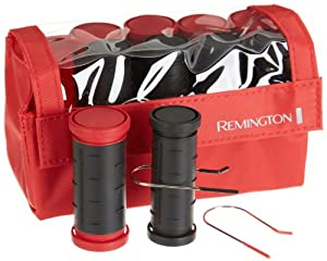 Remington H-1015 Ceramic Compact, Large and Medium Roller, Red