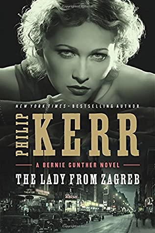 book cover of   The Lady from Zagreb