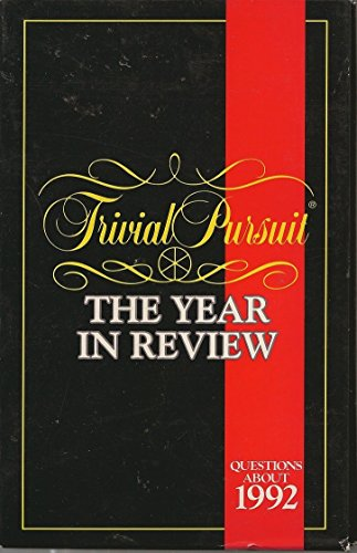 Trivial Pursuit - Year in Review - Questions About 1992