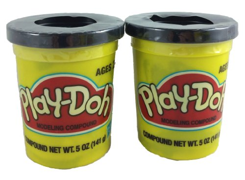 Play-doh BLACK (23848) 2 Pack - 1