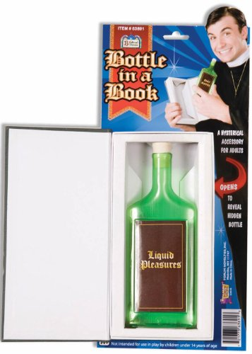The Good Book Bottle In A Book 63891