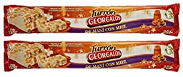 Georgalos Turron Mani Con Miel (Peanut Nougat with Honey) 2 Pack