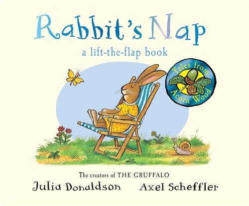 Tales From Acorn Wood: Rabbit's Nap (Tales from Acorn Wood Board Bk)