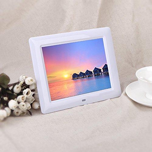 "Andoer - Marco digital HD TFT-LCD de 7"" (480 x 800 píxeles, con funciones de MP3/MP4)"