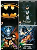 The Complete Batman Legacy DVD Collection: Batman / Batman Returns / Batman and Robin / Batman Forever