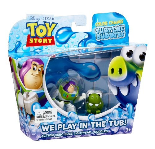 Toy Story Color Splash Buddies Action Hero Buzz Lightyear and Cuddles 2-Pack (Toy Story Color Splash Buddies compare prices)