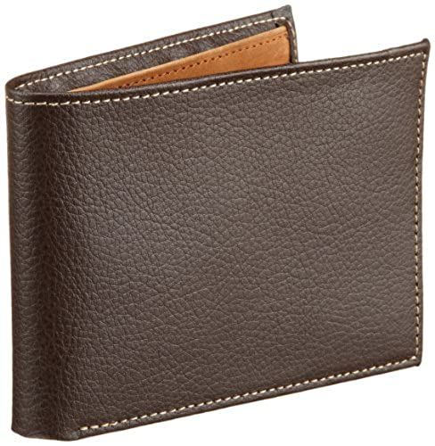 01. Perry Ellis Men's Ny Simple Bifold Wallet