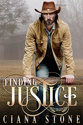 He's not looking for love. Heck he runs from it…  Finding Justice (Honkey Tonk Angels Book 2) by Ciana Stone