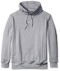 nANA jUDY Men's Sweat Shirt, Grey, L