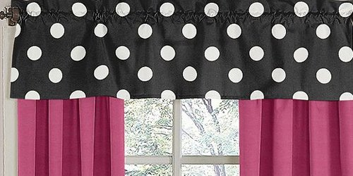Black White And Pink Bedding 6204 front