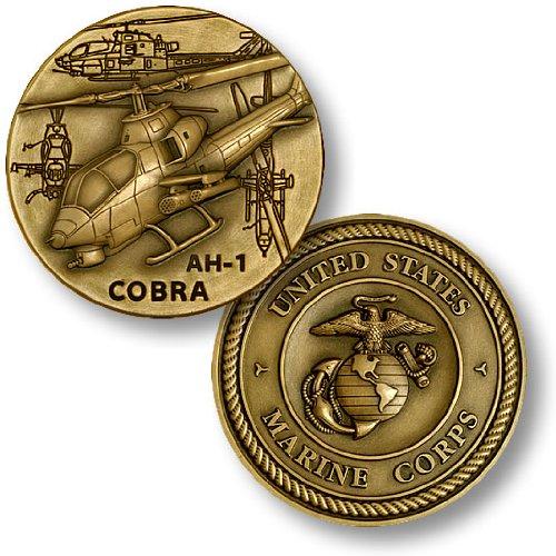 AH-1 Cobra Marine Challenge Coin