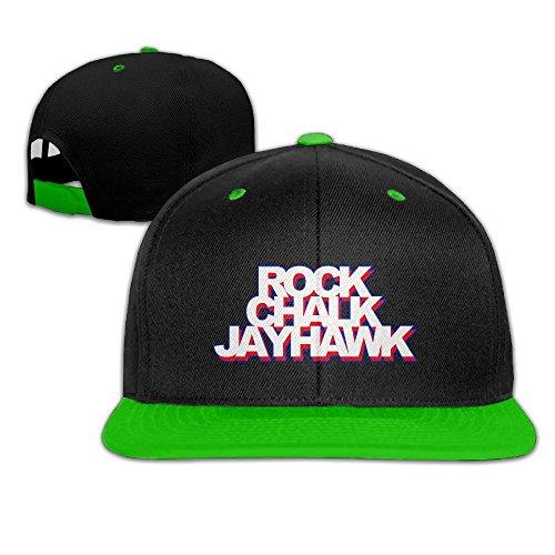 maneg-rock-chalk-jayhawk-unisex-hip-hop-baseball-caphat