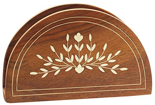 Discounted price napkin holder souvnear wooden napkin for Ornamental centrepiece for a dining table