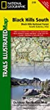 National Geographic Trails Illustrated Black Hills, South East, South Dakota