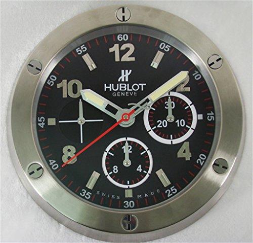 hublot-silent-luminous-sweep-wall-clock-silver-black
