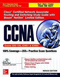 Cisco Certification Network Associate Routing and Switching Study Guide with Boson Netsim Limited Edition: Exam 200 - 120 -  ICND1 and ICND2